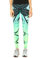 Calça Legging Adidas Estampa Abstrata