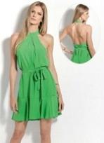 Vestido Feminino Colcci Frente Única Verde