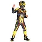 Fantasia Infantil Luxo Filme Transformers 4 Personagem Bumblebee