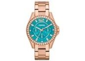 Relógio Fossil ES33854VN feminino dourado