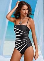 4093a95f4 Maiô Feminino Estampado Preto e Branco | Modacor > O mundo da moda ...