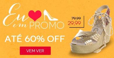 Promoção de lindos calçados femininos com ótimos preços e frete promocional