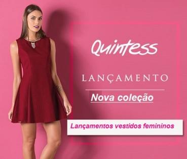 Lançamentos de vestidos femininos Quintess