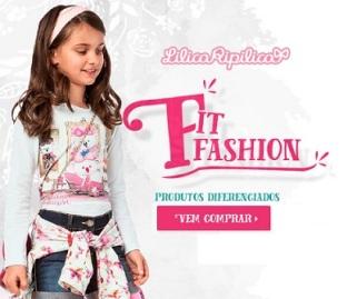 Promoção produtos infantils diferenciados Lilica Ripilica