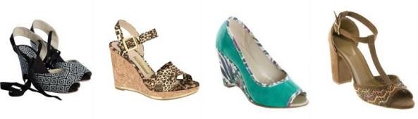 Sandálias femininas modelo sAnabela em promoção com frete especial