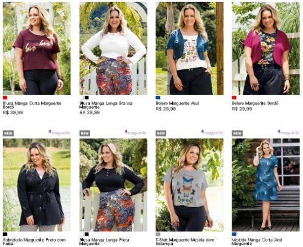 Lançamentos e novidades moda feminina Plus Size